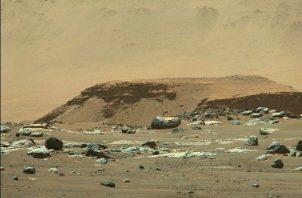 El cráter Jezero de Marte era un tranquilo lago. Foto: EFE