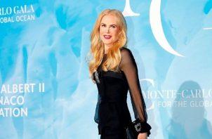 Nicole Kidman se ha quejado de la falta de papeles para las actrices que superan los cuarenta años. Foto: EFE / EPA / SEBASTIEN NOGIER