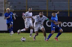 Panamá sigue sin ganar en el Cuscatlán. Foto: Fepafut
