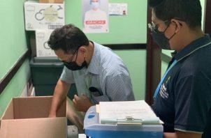 El operativo en Juan Díaz lo realizaron los inspectores de Salud Pública. Foto: Cortesía Minsa