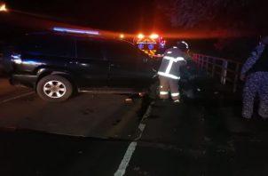 La víctima del accidente de tránsito fue identificada como Leopoldo Córdoba, oriundo de Santa Ana de Los Santos y funcionario de la Caja de Seguro Social. Foto: Thays Domínguez