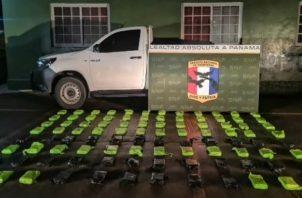Acaban de graduar un grupo de unidades linces lo que permitirá reforzar la vigilancia en el sector de Paso Canoas. Foto: José Vásquez