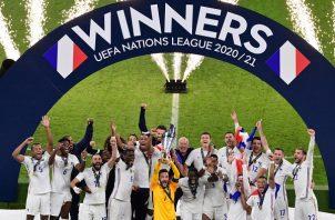 Francia campeón de la Liga de Naciones. Foto: EFE