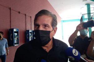 José Luis Varela aceptó que no vio ningún equipo de interceptación de comunicaciones. Foto: Víctor Arosemena