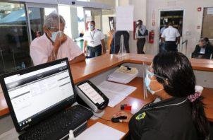 Migración informa que se exigirán todas las medidas de bioseguridad. Foto: Cortesía Migración