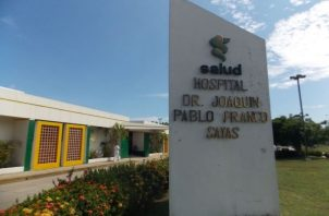 El paciente, según se informó, se encuentra hospitalizado en la Unidad de Cuidados Intensivos del hospital Joaquín Pablo Franco Sayas de Las Tablas, en condición delicada. Foto: Thays Domínguez