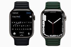El Apple Watch Series 7. Foto: EFE