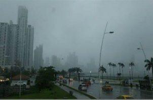 Se esperan fuertes lluvias en varias partes del país. Foto: Grupo Epasa