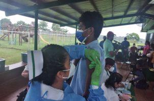 De acuerdo con el Minsa, el objetivo es concientizar a la población de la importancia de contar con el esquema de vacunación completo tanto en niños como adultos a nivel nacional. Foto: Cortesía Minsa