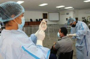 En Panamá se han aplicado 5,670,071 vacunas contra la covid-19. Foto: Cortesía
