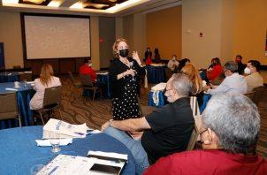 Minsa y PNUD realizaron ayer un taller en un hotel de la ciudad de Panamá. Foto: Cortesía Minsa
