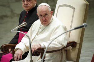 El papa Francisco aolicitó a los países poderosos que cesen las agresiones. EFE