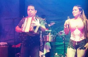 Vlamidir Atencio y Nerys Pérez. IG: Archivo/@teamvladimiratencio