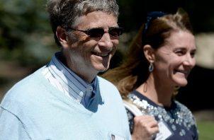 Bill y Melinda Gates, que se divorciaron el pasado agosto, volvieron a reunirse este fin de semana en Nueva York. Foto: EFE