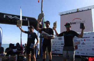 Fueron premiados los tres primeros de cada categoría, en las ramas masculinas y femenina. Foto:Edward Santos