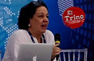 La discriminación laboral de la mujer comienza en el hogar, advierte experta de la OIT, María Arteta. Foto: Cortesía
