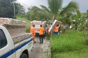 Desde el pasado domingo empezaron a gestionar la ayuda a los afectados. Foto: Diómedes Sánchez