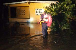 En esta temporada son frecuentes los desbordes de ríos en la región. Foto: Thays Domínguez