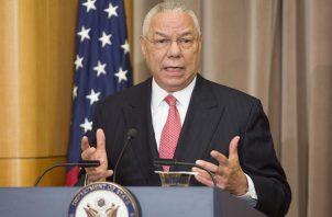 El exsecretario de Estado de los EE.UU. Colin Powell, en una fotografía de archivo. EFE