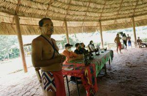 Con este nuevo rancho comunitario fortalecerán las actividades del turismo sostenible. Foto: Diomedes Sánchez