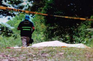 La víctima había participado eldomingo de un convivio deportivo en Santa Rosa de Capira. Foto: Eric A. Montenegro
