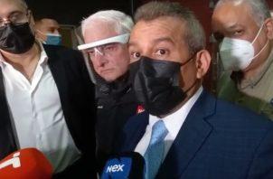 El abogado Sidney Sittón dio fuertes declaraciones en contra del Ministerio Público.