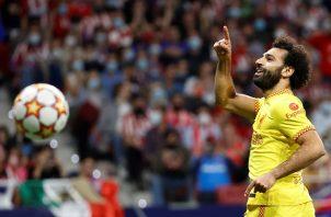 Liverpool ganó de visita 3-2 ante el Atlético de Madrid. Foto: EFE