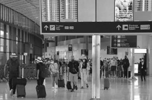 Vista del Aeropuerto de Tocumen. Se crearía una fuente importante de puestos de trabajo y la factibilidad de viajes a nivel mundial para el ciudadano común panameño, fomentando el turismo hacia Panamá. Foto: Archivo. Epasa.