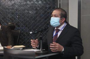 Miguel Fanovich dijo que en la Asamblea se propondrá el tema. Foto. Cortesía Asamblea Nacional