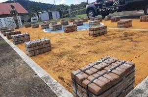 La mayoría de la droga incautada, más de 80 toneladas, era traficada por rutas marítimas. Foto: Cortesía Senan