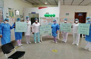 Las enfermeras están cansadas de la falta de compromiso de las autoridades. Foto: Grupo Epasa