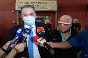 Alfredo Vallarino lamentó la incapacidad de los fiscales. Foto: Víctor Arosemena