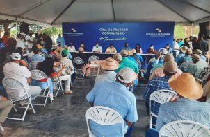 La ceremonia se efectuó en la comunidad de San José en el distrito de Soná. Foto: Melquiades Vásquez