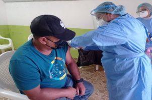En las últimas fechas  se han detectando casos en la población no vacunada. Foto: José Vásquez