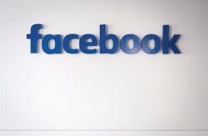 n la imagen un registro de archivo de un logo de Facebook. EFE
