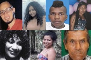 Ministerio Público publicó casos de personas desaparecidas. Foto: cortesía