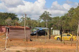 Unas 200 familias de Tierra Prometida aceptaron ser reubicadas hace algunos meses; las otras fueron desalojadas el pasado viernes. Foto: Archivo