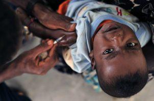 Para evitar brotes de polio se deben mantener al 90% las coberturas de vacunación.  Pixabay