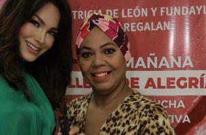 Patricia De León en el evento. Cortesía