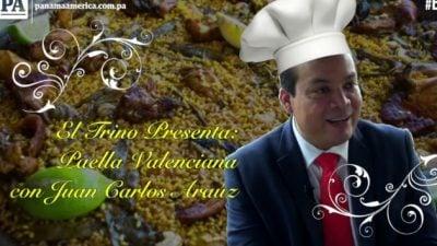 El Presidene del Colegio Nacional de Abogados, Juan Carlos Araúz demuestra su talento en la cocina. Foto/JC Lamboglia