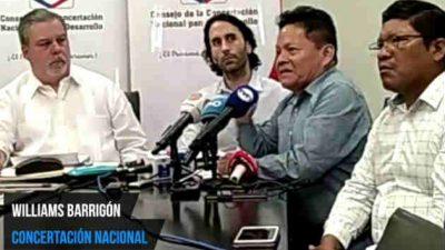 Concertación Nacional. Foto/Yai Urieta