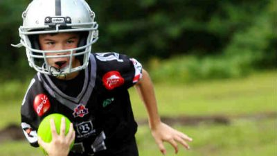 Lucas Norte y su pasión por el deporte. Foto/Gabriela Herrera