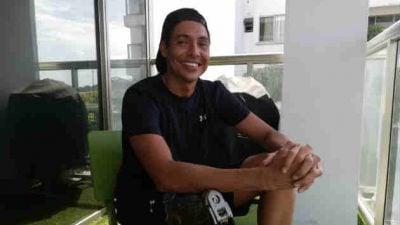 El nadador de aguas abiertas, César Barría tiene nuevas metas. Foto/Miriam Lasso