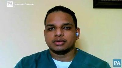 Miguel Cedeño, presidente de la Asociación de Terapia Respiratoria de Panamá.