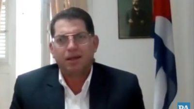 Carlos Ricardo Pérez Díaz, encargado de la brigada de médicos cubanos en Panamá.