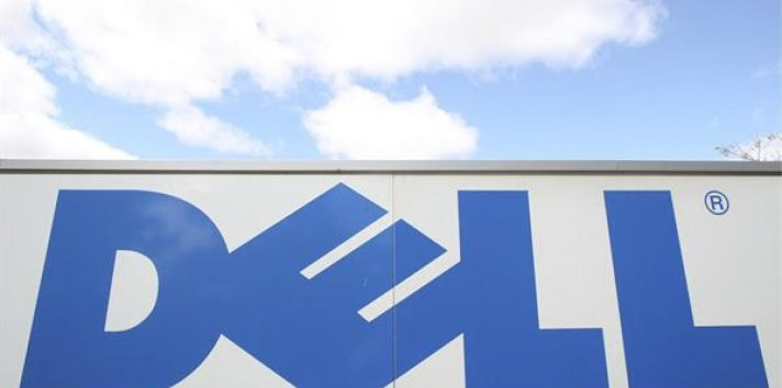 Logo de la empresa de ordenadores Dell.