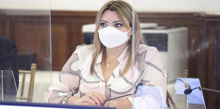 Doris Zapata se mostró optimista con la recuperación económica. Foto: Mitradel