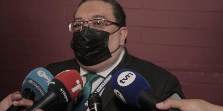 Ricaurte González, fiscal del Ministerio Público, ha sido duramente cuestionado por los abogados de la defensa. Víctor Arosemena