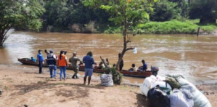 Sin en el mes de junio ingresaron más de 11 mil migrantes por Darién, las autoridades estiman que en julio se rebasó esta cifra. Foto: Cortesía