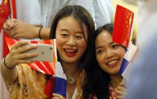 Vuelo que conecta a Panamá con China
